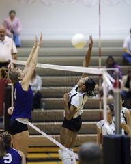 Fototapeta volleyball spike