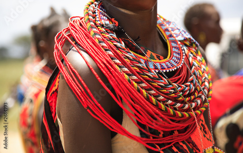 Photo sur Aluminium Afrique african jewellery