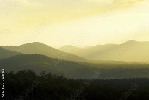 Foto auf Gartenposter Hugel rolling hills