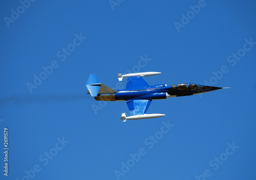 Photo f-104d starfighter performing at airshow