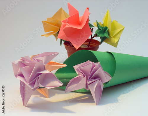 Origami flowers buy this stock photo and explore similar images at origami flowers mightylinksfo