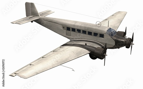 avion aluminium Canvas Print