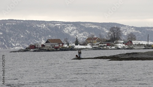 Foto op Aluminium Arctica fjord