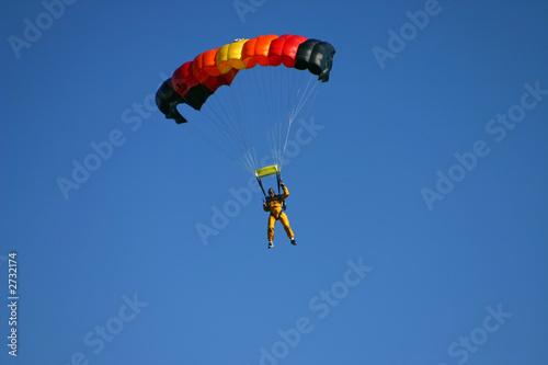 Fotobehang Luchtsport paragliding