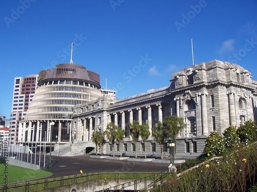 le parlement de la nouvelle zélande (the beehive)