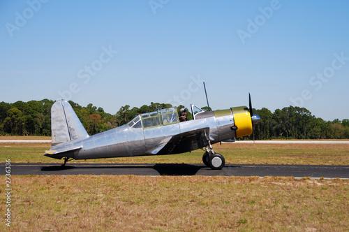 Obraz na plátně  world war ii era airplane
