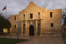 The Alamo Blazing In The Light.