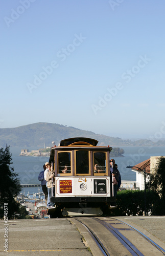 Obraz tramwaj  tramwaj-miejski-w-san-francisco