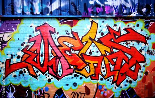 Foto op Aluminium Graffiti graffiti urban