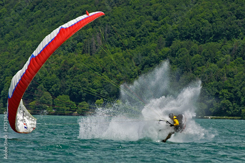 Photo  acrobatie parapente 9