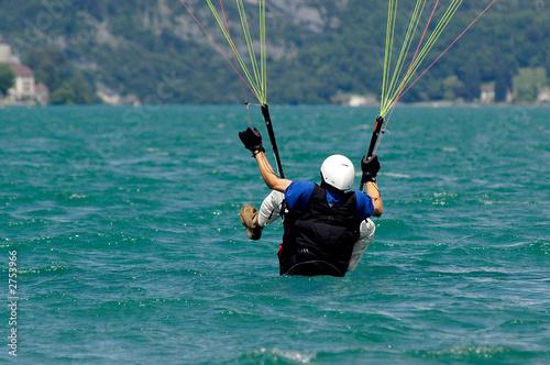 Photo  acrobatie parapente 10