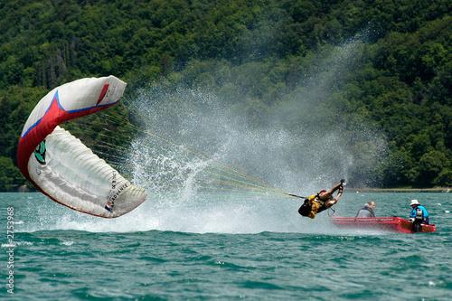 Photo  acrobatie parapente 12