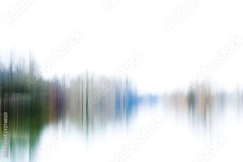 Fotografie, Obraz  abstract dirty waveform, green
