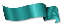 Turquoise Ribbon / Banner