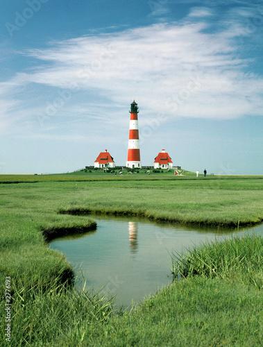 Foto-Flächenvorhang - leuchtturm 3 (von Wolfgang Jargstorff)
