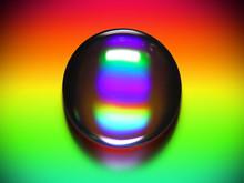 Vibrant Water Drop