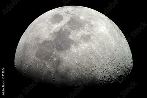 Obraz Księżyc Ziemii - fototapety do salonu