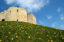 Cliffords Tower In Springtime