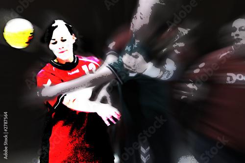 Fotografie, Obraz  handball