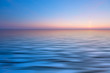 canvas print picture - abstract ocean and sunset background