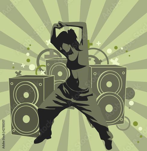 Foto-Lamellen (Lamellen ohne Schiene) - the dancing girl (von Vera Vasilyeva)