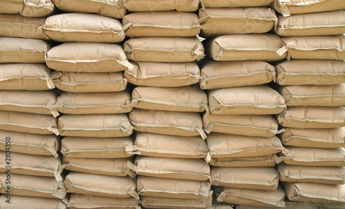 Photo  cement bags