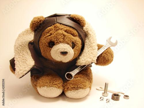 teddy bear mechanic