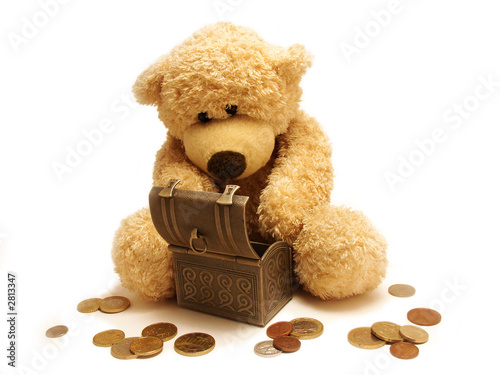 teddy-bear&treasure #2813347