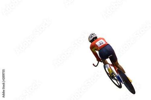 Foto op Plexiglas Fietsen cyclist