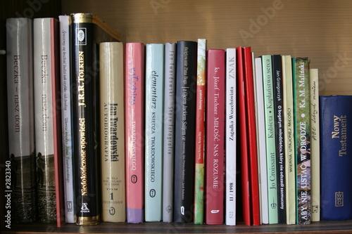 Poster Bibliotheque bookshelf