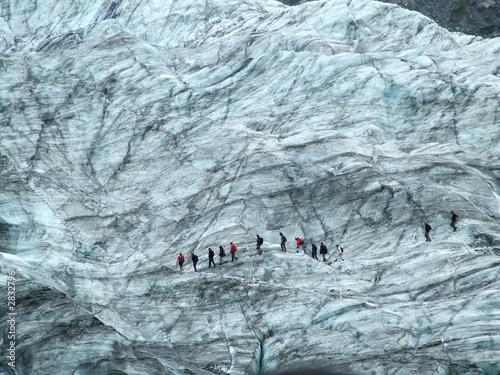 Poster Gletsjers glacier walk