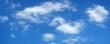 Leinwandbild Motiv beautiful summer clouds on blue sky 8