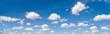 Leinwandbild Motiv cloudscape panorama