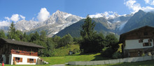 Moutain House In The Chamonix Valley, Les Houches, France, The A