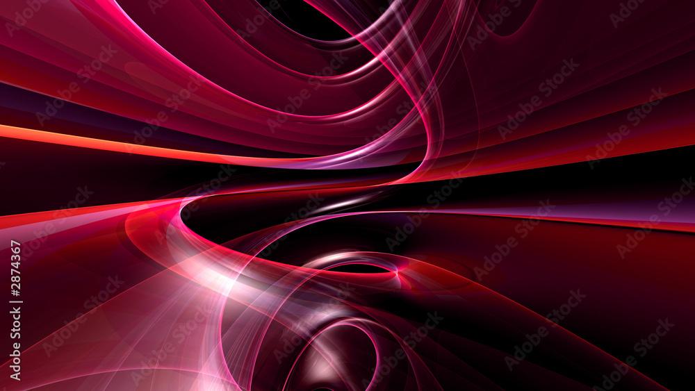 Fototapeta fond d'écran abstrait généré en 3d