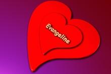 Evangeline - Herz In 3d Gerendert (liebe)
