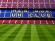 barcelona: estadio camp nou