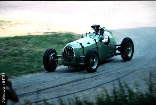 Foto op Aluminium Vintage cars classic car speed trial