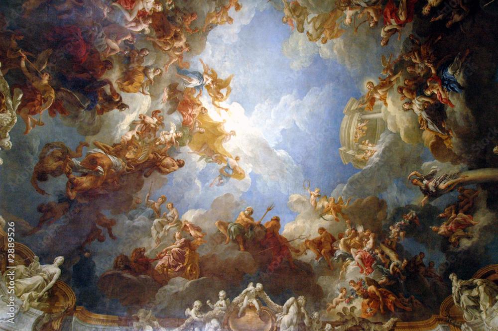 Foto-Stoff bedruckt - chapel ceiling