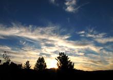 Sunset Over Atascadero