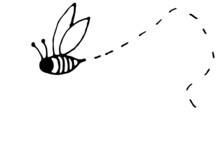 Bee Folk Art