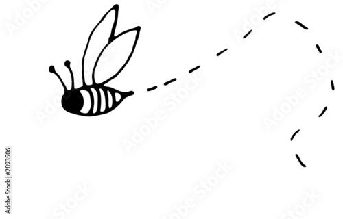 Recess Fitting Bee bee folk art