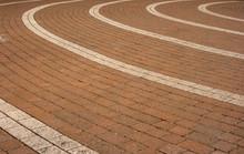 Circular Paving Pattern