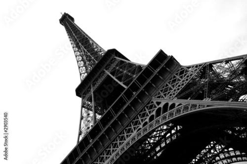 Foto op Aluminium Eiffeltoren paris'er eiffelturm