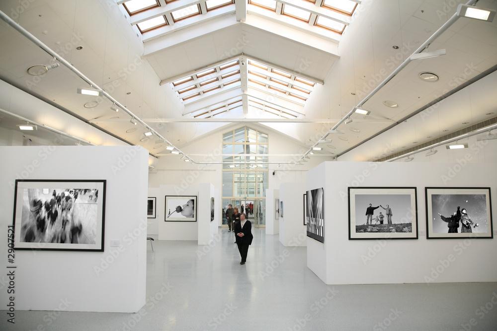 Fototapeta photo exhibition