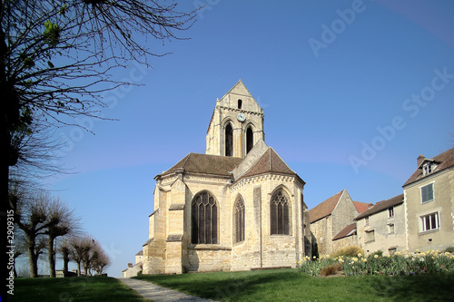 eglise Canvas Print