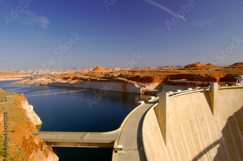 Photo sur Toile Barrage glen canyon dam 2