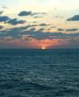 sunset on ocean3