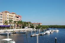Waterfront Of Naples, Florida