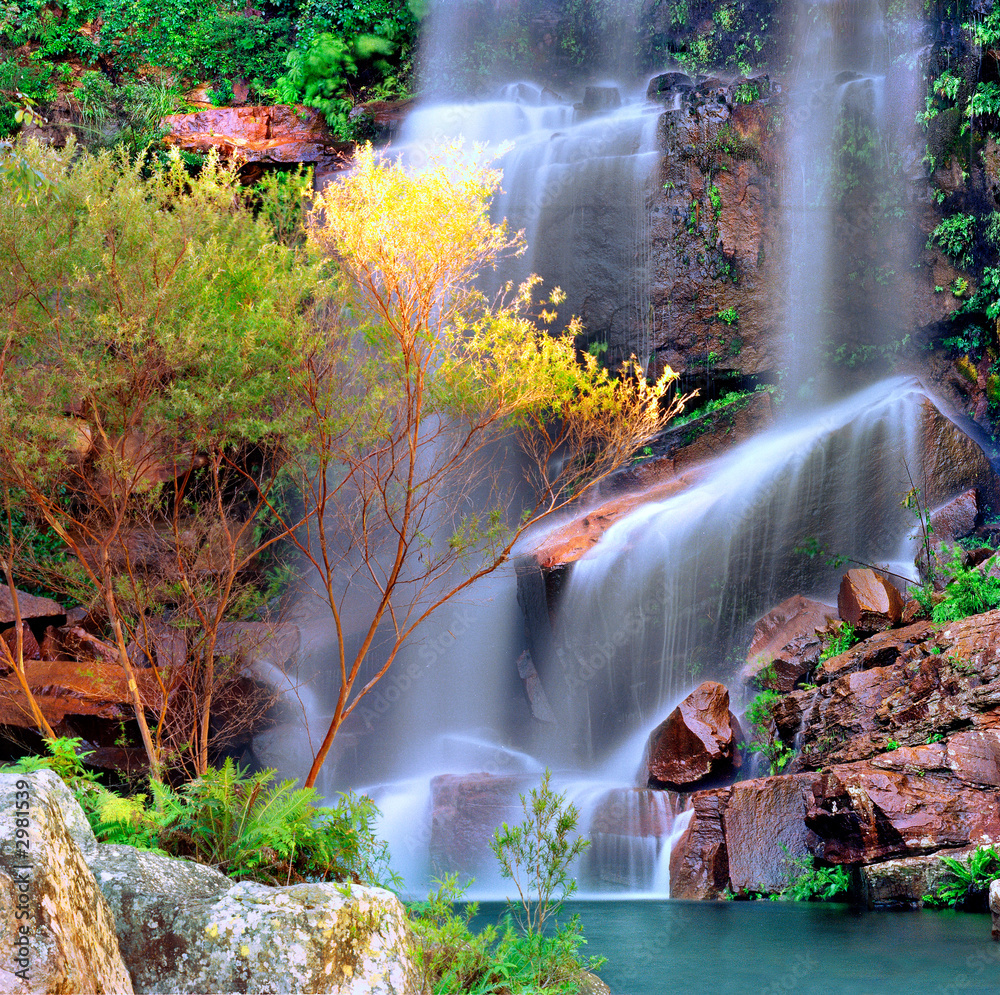 Fototapeta waterfall